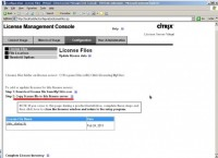 Install a Citrix License on a Citrix License Server